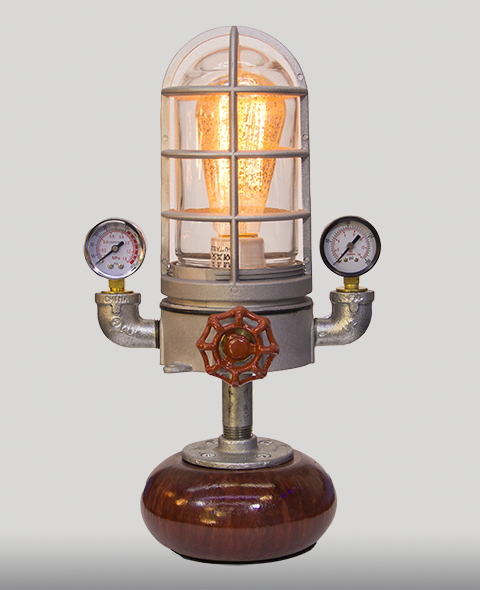 Mini Minaret Steampunk Lamp American Steampunk Lamp Company